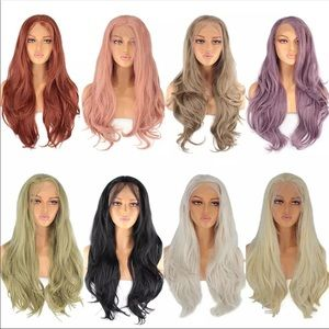 Leeven 24''Synthetic Lace Front wig